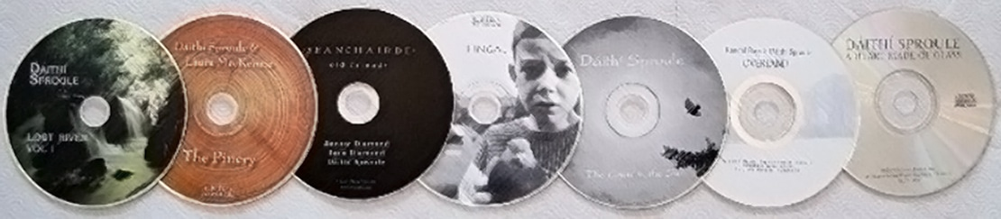 CDs by Dáithí Sproule