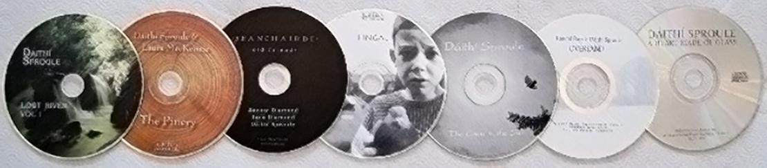 CDs by Dáithí Sproule